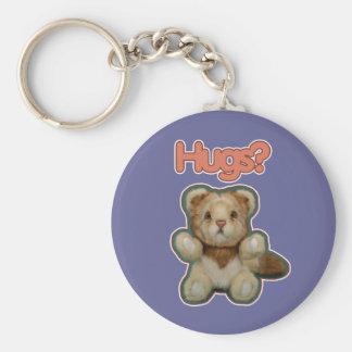 Cute Lion Hugs Key Chain