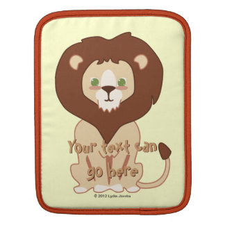 Cute Lion iPad Sleeve