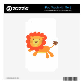 cute lion iPod touch 4G skins