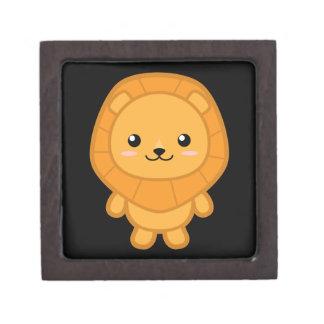 Cute Lion Jewelry Box