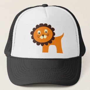52f451e6936fe Cute Lion Jungle Safari Zoo Animals Tshirts Trucker Hat