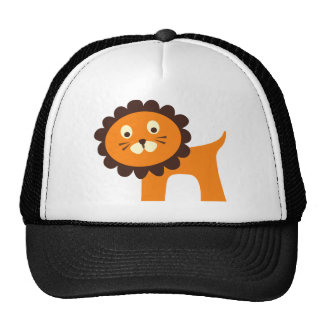 Cute Lion Jungle Safari Zoo Animals Tshirts Trucker Hat