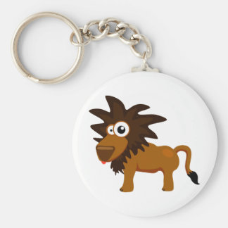 Cute lion keychain