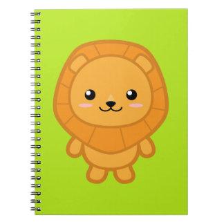 Cute Lion Notebook