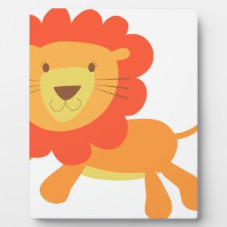 cute lion plaque