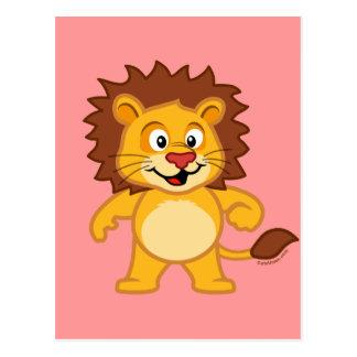 Cute Lion Postcard