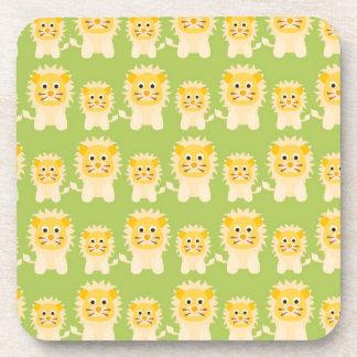 Cute Lions Coaster