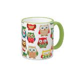 Cute Litte Owls Coffee Mug