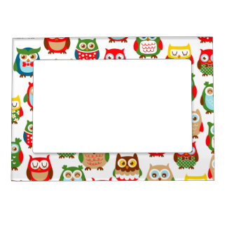 Cute Litte Owls Magnetic Frame