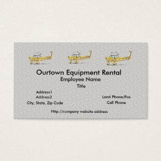 Cute Little Airplane Business Card
