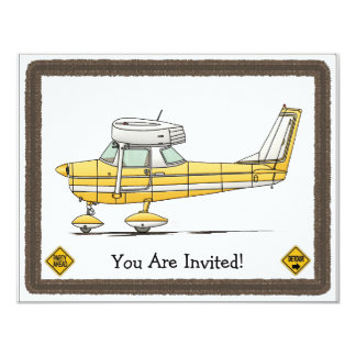 Cute Little Airplane Card