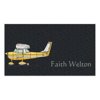 Cute Little Airplane Double-Sided Standard Business Cards (Pack Of 100)
