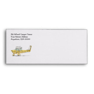 Cute Little Airplane Envelopes