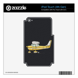 Cute Little Airplane iPod Touch 4G Decals