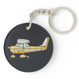 Cute Little Airplane Keychain