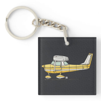 Cute Little Airplane Keychain