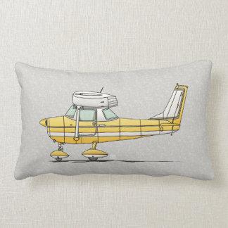 Cute Little Airplane Lumbar Pillow