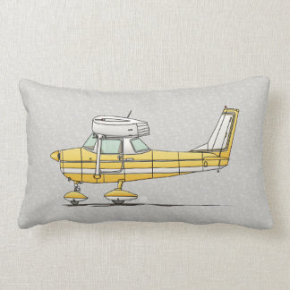 Cute Little Airplane Lumbar Pillow
