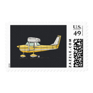Cute Little Airplane Postage Stamp