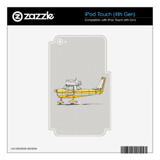 Cute Little Airplane Skin For iPod Touch 4G