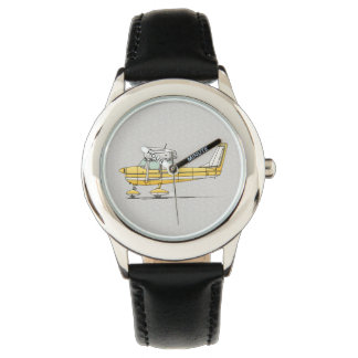 Cute Little Airplane Wrist Watch