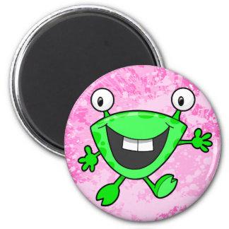 Cute Little Alien Monster  Magnet
