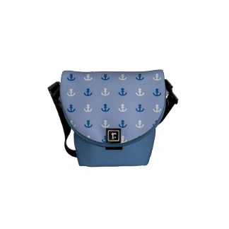 Cute Little Anchor Pattern Messenger Bag