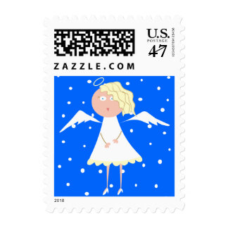 Cute Little Angel Postage Stamp
