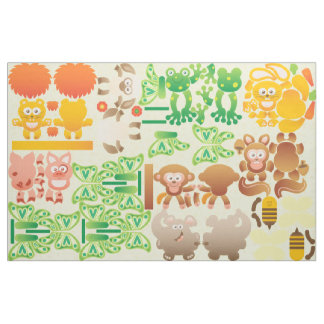 Cute Little Animals to be done by Yourself Fabric