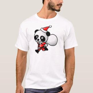 Cute little animated Christmas panda T-Shirt