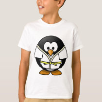 Cute little animated judo penguin T-Shirt