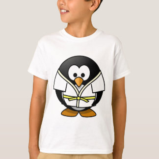 Cute little animated judo penguin T-Shirt