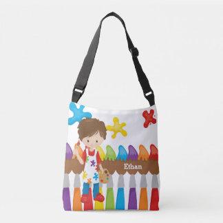 Cute Little Artist Tote Bag