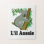 Cute Little Aussie Koala Bear (captioned) Puzzles