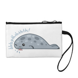 Cute little babbly seal! coin wallet