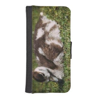 Cute Little Baby Goose, Gosling In Grass iPhone 5 Wallet