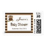 Cute Little Baby Owl   Baby Shower Postage
