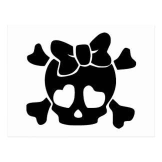 Cute Little Baby Skull Post Card