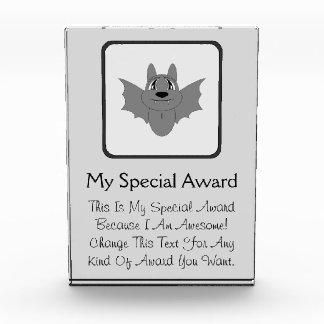 Cute Little Bat Acrylic Award