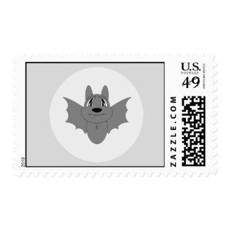 Cute Little Bat Postage