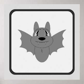 Cute Little Bat Print
