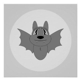 Cute Little Bat Posters