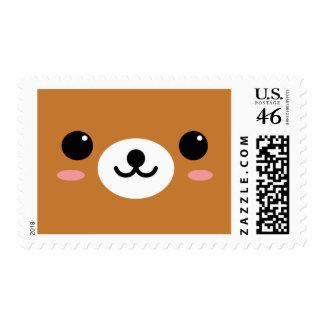 Cute Little Bear Stamp