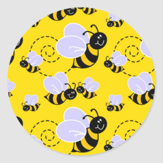 Cute Little Bees Stickers