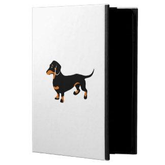 Cute Little Black and Tan Dachshund - Doxie Dog Powis iPad Air 2 Case