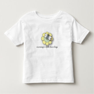 Cute Little Blue Bee Love Bug Toddler T-shirt