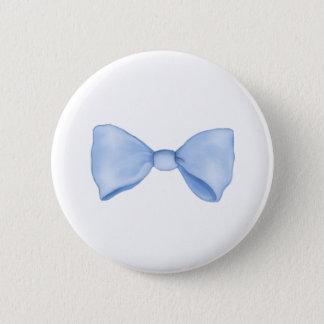Cute Little Blue Bow Tie Button