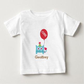 Cute Little Blue Monster, For Babies Tshirt
