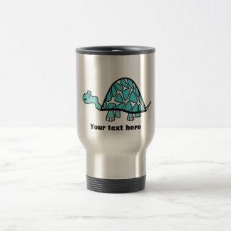 Cute little blue turtle coffee mug