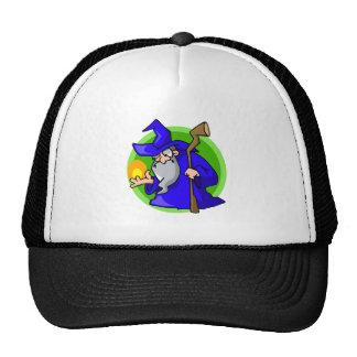 Cute little blue wizard hats